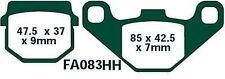 EBC Bremsbeläge FA083HH Vorderachse passt in Kawasaki AR 50 A1/C2-C10 81-97