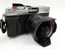 Newyi 7.5mm F/2.8 Wide Angle Fisheye MF Manual Focus Lens for Fujifilm FX /X 8mm