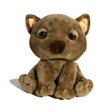 WILD ANIMALS CUTE BROWN WOMBAT STUFFED ANIMAL PLUSH TOY 18cm DELIVERY