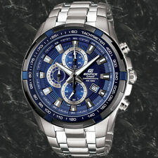 Casio Edifice Men's Stainless Steel 100M Chronograph Tachymeter Watch EF539D-2AV