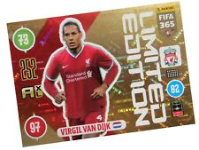 PANINI FIFA 365 2021 LIMITED VIRGIL VAN DIJK - LIVERPOOL FC