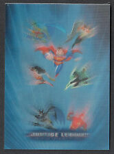 """JUSTICE LEAGUE (Inkworks/2003) """"ACTIONWORKS"""" CASE LOADER CARD #AWCL Lenticular"""