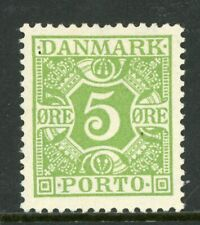 Denmark 1930 Postage Due Perf 14x14½ Scott J12 Mint N858