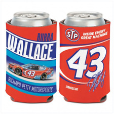 Bubba Wallace 2018 STP #43 Can Cooler 12 oz. NASCAR Koozie