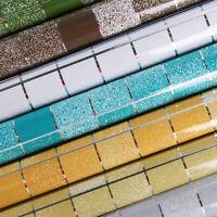 EE_ Aluminum Foil Self AdhesiveWall Stick Oil-proof Waterproof Wall Tile Sticker