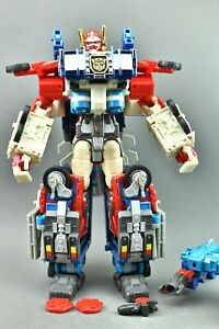Transformers Robots In Disguise Optimus Prime Ultra Magnus Leader RID 2001
