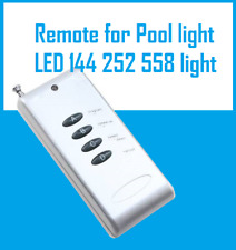 Remote for Pool Light , Suitable LED 144, 252, 558 Pool Light