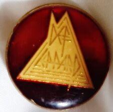 1987 Vintage Promo Def Leppard Hysteria Enamel Lapel Pin