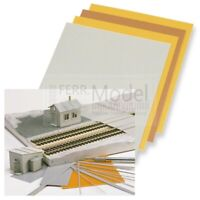 BUSCH 7203 - Fogli di plastica plasticard per modellismo. Pz.4