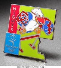 OLYMPIC PIN 2000 SYDNEY AUSTRALIA MASCOT SPORT HURDLES