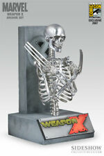 SIDESHOW EXCLUSIVE Marvel Archive Set: WOLVERINE Weapon X Scale REPLICA MIB! MEN