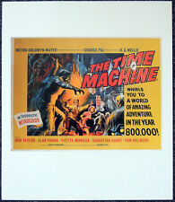 THE TIME MACHINE 1960 FILM MOVIE POSTER PAGE . H.G.WELLS . S36