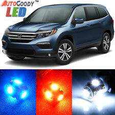 19 x Premium Xenon White LED Lights Interior Package Kit for Honda Pilot 16-17