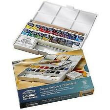 Winsor & Newton Cotman 0390060 Water Colour Deluxe Sketchers Pocket Box