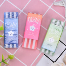 colorful stripe korean pencil erasers star jelly rubber for kids school-supplies