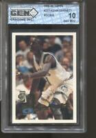 1995-96 Kevin Garnett Topps #237 Gem Mint 10 RC Boston Celtics