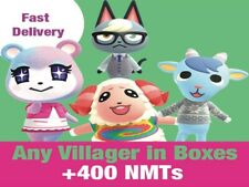 ACNH Any Villager in boxes