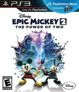 Disney Epic Mickey 2: The Power of Two - Playstation 3 Game