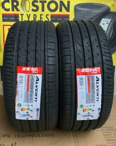 2×245/40ZR19 98Y XL ZETA  ALVENTI B/B RATED ENGINEERED IN EUROPE QUALITY TYRES