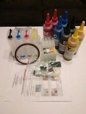 Continuous Ink Supply System with 8 bottles of ink For Epson C88
