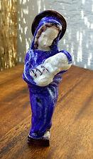 Madonna mit Kind, Keramik, Art Deco, signiert F.H., Fritz Hudler, Diessen