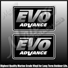 EVO ADVANCE - STACER - PAIR - BOAT DECALS