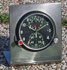RARISSIMO orologio MILITARE con DOPPIO CRONOMETRO di bordo per MIG 29