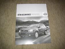 Volvo XC90 Ocean Race Preisliste Price list vom 01.07.2008
