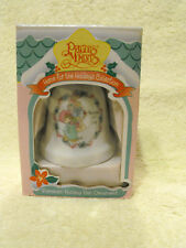 Precious Moments Porcelain 1995 Holiday Bell Ornament Expressions by Enesco