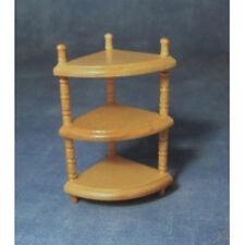 Small Corner Unit Dolls House Miniature, Hall Furniture Shelf 1.12 Scale
