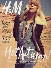 Rare!! H&M Magazine autumn 2010 front Anja Rubik