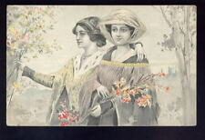 ART NOUVEAU Glamour artist drawn 1905 u/b PPC