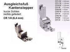 Ausgleichsfuß KANTENSTEPPER rechts 6,4 mm CR1/4 KURZE Sohlen