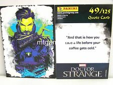 Doctor Strange Movie Trading Card - 1x #049 cuota Card-TCG
