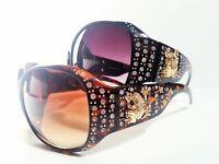 Womens Fashion Rhinestone Sunglasses Frog Bling
