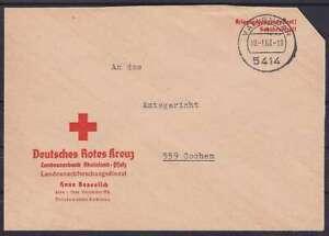 Federal Red Cross Kgf Post Letter Vallendar - Cochem 1963