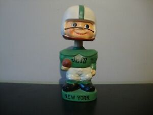 VINTAGE NEW YORK JETS 1960s BOBBLEHEAD BANK in Excellent Condition!