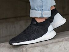 830ee7ba7afc Adidas Ultra Boost Laceless Trainers UK10 CORE BLACK BB6140 NMD ADV OG TR  ZX E