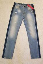 People Trend Mens Boys Blue Jeans 31 x 32  Slim Blue