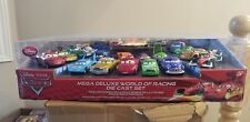 Disney Pixar Cars Mega Deluxe World Of Racing Die Cast Set