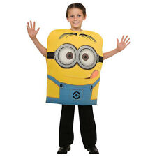 Kids Minion Dave Fancy Dress Costume