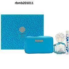 Vince Camuto CAPRI Perfume 3 pc SET Women 3.4 oz EDP Spray + Mini + Cosmetic Bag