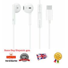 For Huawei Type C USB-C Earphones Stereo Headphones For P20 Mate 20 P30 Pro