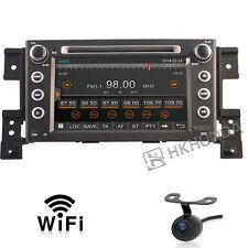HD Car DVD GPS Player 3G Navi Radio For Suzuki Grand Vitara 2005 2012 Free Cam
