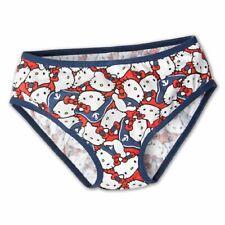Hello Kitty 2er Pack Kinder Panties Slip Panty Baumwolle Mädchen Kleinkinder