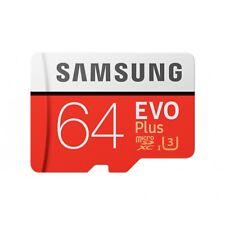 Samsung EVO Plus 64GB Class 10 MicroSDXC Memory Card - MBMC64GAEU