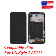 """For LG Stylo 3 LS777 LCD Screen Touch Digitizer Display 5.7"""" M400DK Black"""