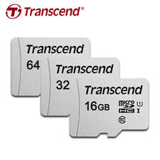 Transcend 300S 16GB 32GB 64GB micro SDHC/XC C10 UHS-I Memory Card up to 95MB/s