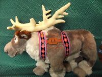 "OFFICIAL DISNEY STORE SVEN FROZEN REINDEER 16"" APPROX SOFT TOY RARE"