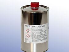 Aceton, Werkzeugreiniger, Verdünner, Lackentferner, chemisch rein 1 l bis 5 l